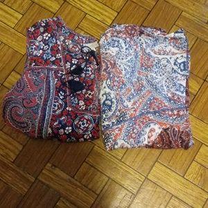 Set of 2 women's tops sz 3X